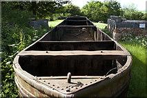 SP6989 : Retired Boat by Beryl Allcoat