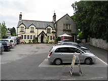 SK1971 : Great Longstone - The Crispin Inn on Main Street by Alan Heardman