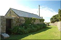 SW5927 : Cornish stone barn, Rinsey Hamlet by Mari Buckley