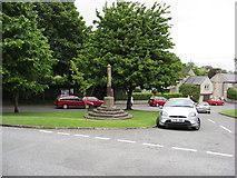 SK1971 : Great Longstone - Village Cross by Alan Heardman