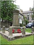 SK1971 : Great Longstone - War Memorial by Alan Heardman