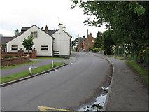 SJ8417 : Church Eaton - High Street by Peter Whatley