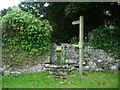 SD2674 : St Mary & St Michael Church, Great Urswick, Stile by Alexander P Kapp