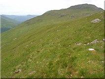 NN2507 : View of Beinn Luibhean from Beinn Ime by Andrew Smith