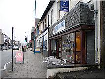 SH5638 : Stryd Fawr/High Street Porthmadog by John Lucas