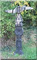 TL7222 : Rayne - Flitch Way - National Cycle Network 16 Rowe Type Milepost by Trevor Wright