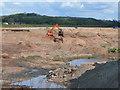 SK1920 : Gravel pit at Dunstall 2 by Jonathan Billinger