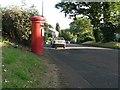 SZ0796 : East Howe: postbox № BH10 80, East Howe Lane by Chris Downer