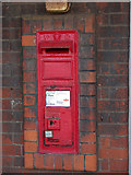 TL4197 : VR postbox on March Station by Keith Edkins