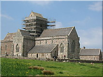 NM2824 : Iona Abbey by Mrs V Bryant