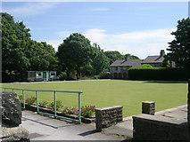 SE0726 : Bowling Green - Pellon Social Club - Moor End Road by Betty Longbottom