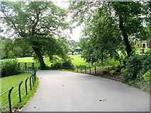 SE0824 : People's Park - viewed from Hopwood Lane by Betty Longbottom