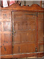 TG3821 : All Saints Church - early C17 tower screen by Evelyn Simak