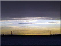 TA0224 : The Humber Bridge from north of Paull by Andy Beecroft