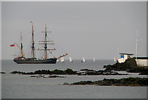J5182 : The 'Kaskelot' off Bangor by Rossographer