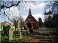 TQ4768 : Mortuary chapel, St Mary Cray cemetery by Dr Neil Clifton