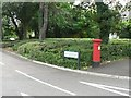 SZ0892 : Talbot Woods: postbox № BH3 52, Wimborne Road by Chris Downer