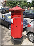 TQ3370 : Penfold postbox, Belvedere Road, SE19 by Mike Quinn