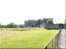 SN0403 : Entrance to Carew Castle by Colin Bell