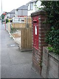 SZ0895 : Redhill: postbox № BH10 184, Redhill Drive by Chris Downer