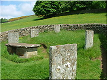 SK2276 : Riley Graves - Eyam, Derbyshire by Sam and Ned