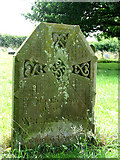 TG0934 : The church of SS Peter & Paul - C19 headstone by Evelyn Simak