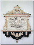 TG0934 : The church of SS Peter & Paul - C18 memorial by Evelyn Simak