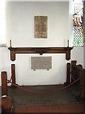 TG0934 : The church of SS Peter & Paul - war memorial by Evelyn Simak