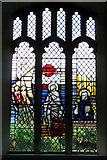 TG0934 : The church of SS Peter & Paul - stained glass window by Evelyn Simak
