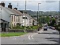 ST0380 : A4222 through Brynsadler by Mick Lobb