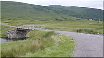 NH3573 : White Bridge, Strathvaich by Calum McRoberts