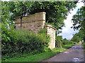 SE7584 : Railway Bridge at Riseborough Hagg by Nick Price