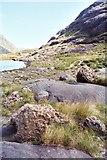 NG4820 : Rocks alongside Coruisk by Carol Walker