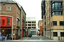 J3474 : Prince's Street, Belfast by Albert Bridge