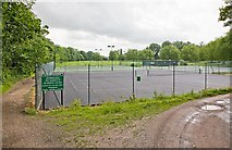 SU4828 : Kingsgate Tennis Club, Domum Road, Winchester by Peter Facey