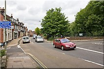 SU4828 : Crossroads on B3330, Winchester by Peter Facey
