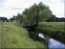 TQ2173 : Beverley Brook by Shaun Ferguson