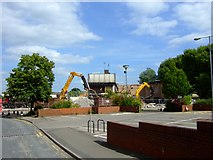 SJ9223 : Riverside Sports Centre, Stafford by Simon Huguet