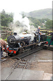 NY1700 : Ravenglass and Eskdale loco River Esk by John Firth
