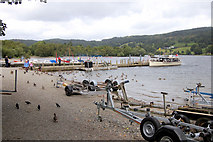 SD3097 : Shore at Coniston by John Firth