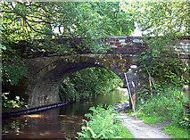 SD9726 : Rochdale Canal, Callis Bridge by michael ely
