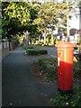 SZ1193 : Littledown: postbox № BH7 244, Littledown Avenue by Chris Downer