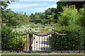TQ8010 : Fenced garden in Alexandra Park by Julian P Guffogg
