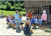 SU8712 : Musical Entertainment at the Weald and Downland Open Air Museum, Singleton by Kevin Gordon
