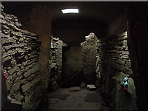 ND4784 : Inside the Tomb of the Eagles by hayley green