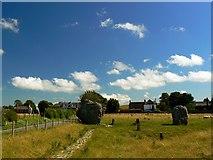 SU1070 : Just north of Avebury by Brian Robert Marshall