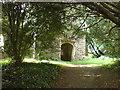 SN0313 : The church at Slebech. Commandery of St John - Knights Hospitaller by Deborah Tilley