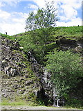 SN7848 : Small waterfall, Llyn Brianne by Rudi Winter