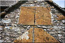 SY7699 : Sundial above the South Porch entrance of St Martin's - Cheselbourne by Mike Searle