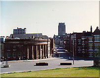 SJ3590 : View from Liverpool Metropolitan Cathedral, 1988 by Keith Edkins